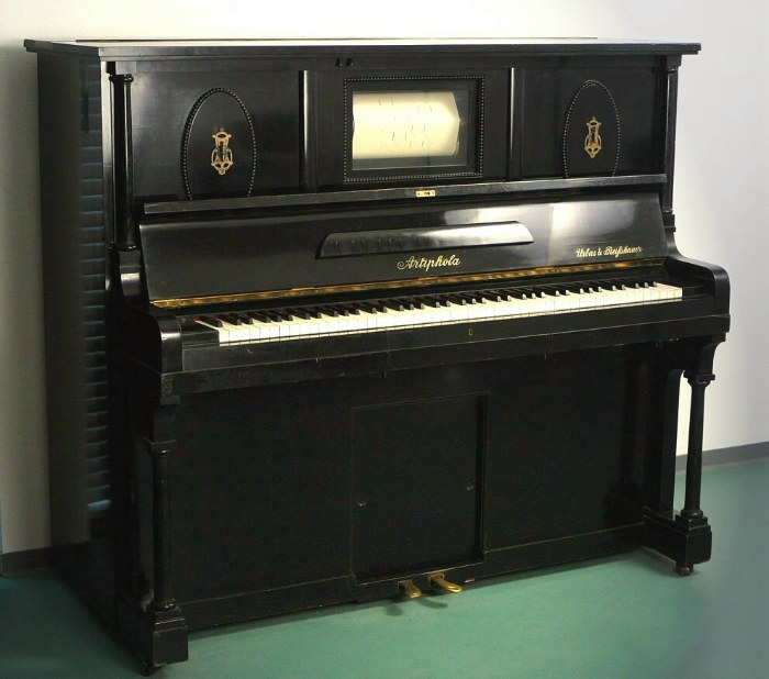 how to sell a pianola