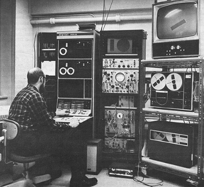Typical PDP-12 in scientific environment